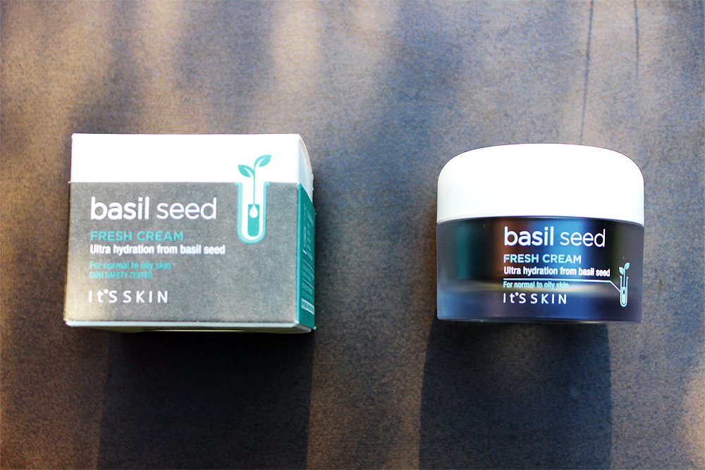 It's Skin Basil Seed Fresh Cream review