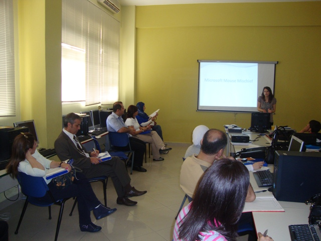 Makassed KSPS Makassed ERC workshop Integrating Mouse Mischief in