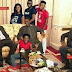 LOL! Checkout Pictures Of Mavins Record Crew As They Visit President Buhari In London