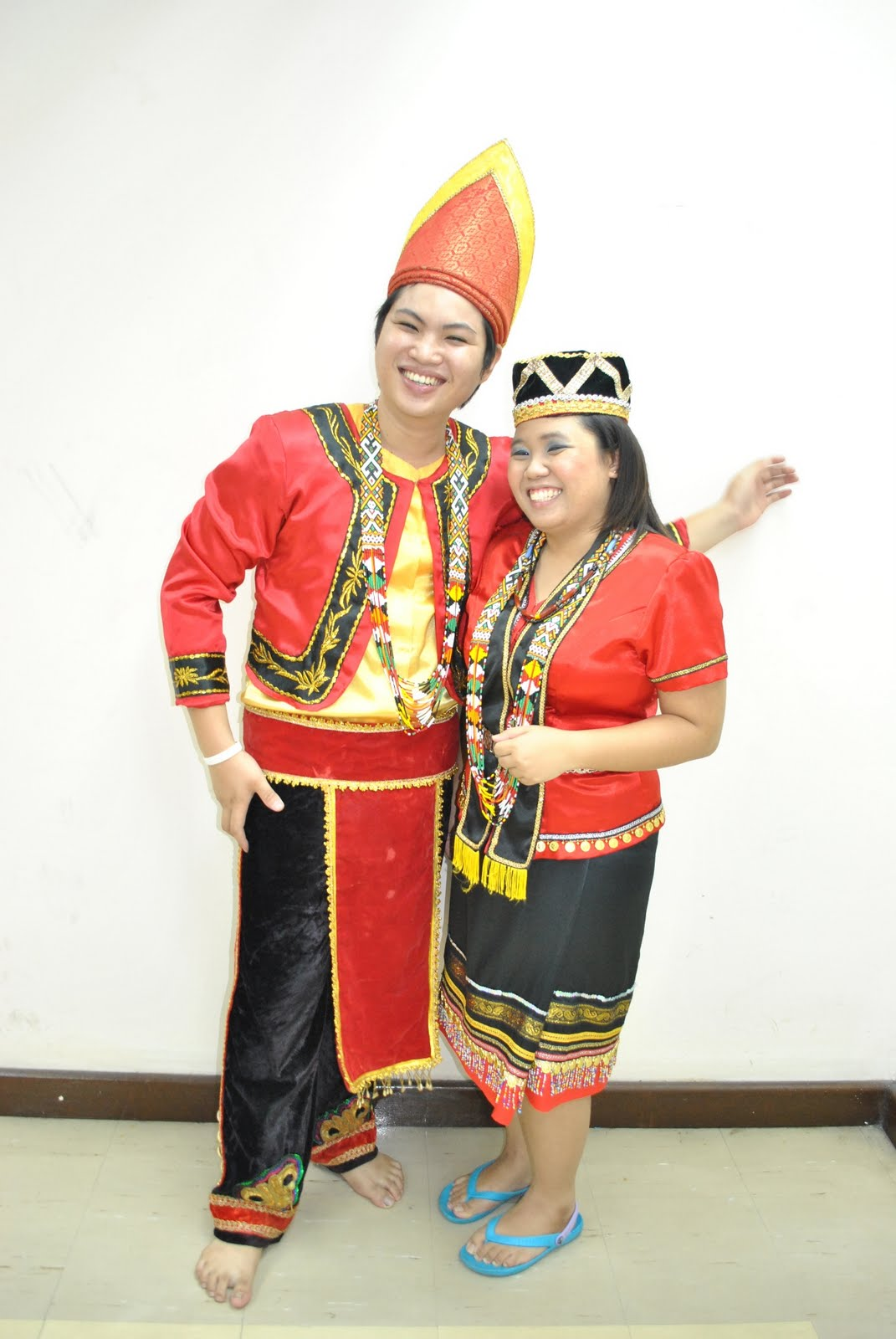 Sarawak Traditional Costume and Handicraft: Bidayuh