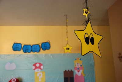 super Mario bros party decorations