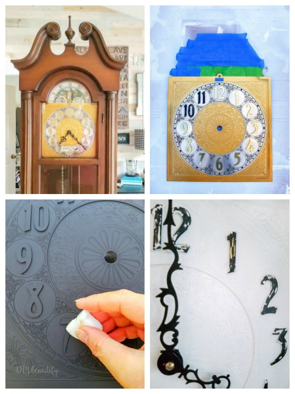 painting clock face