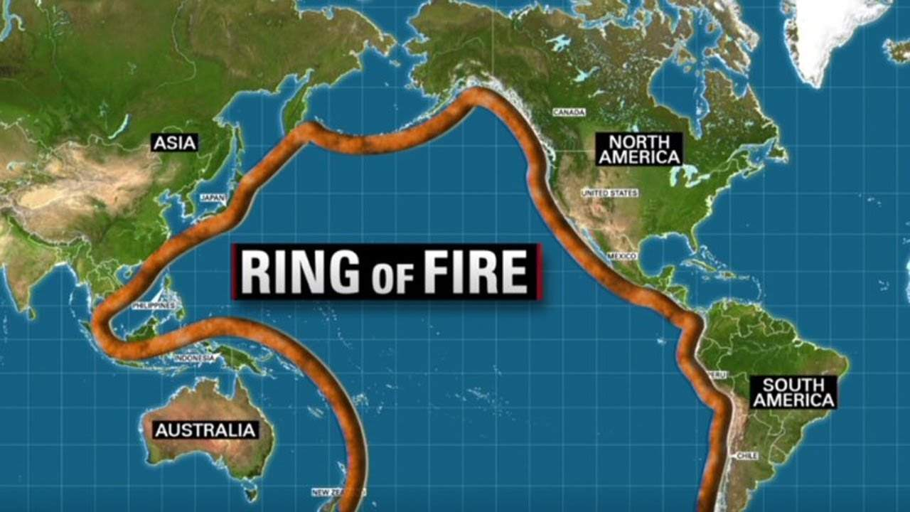 Ring Of Fire Rocked By Earthquakes Is California In Store For The