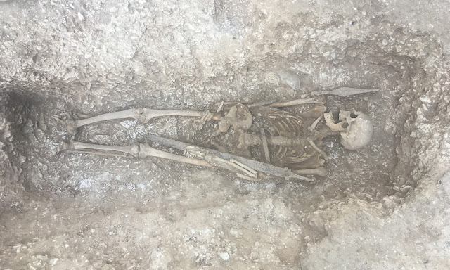 Saxon warrior's grave discovered on Salisbury Plain