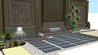 desain taman surabaya | desaian taman relief | www.jasataman.co.id