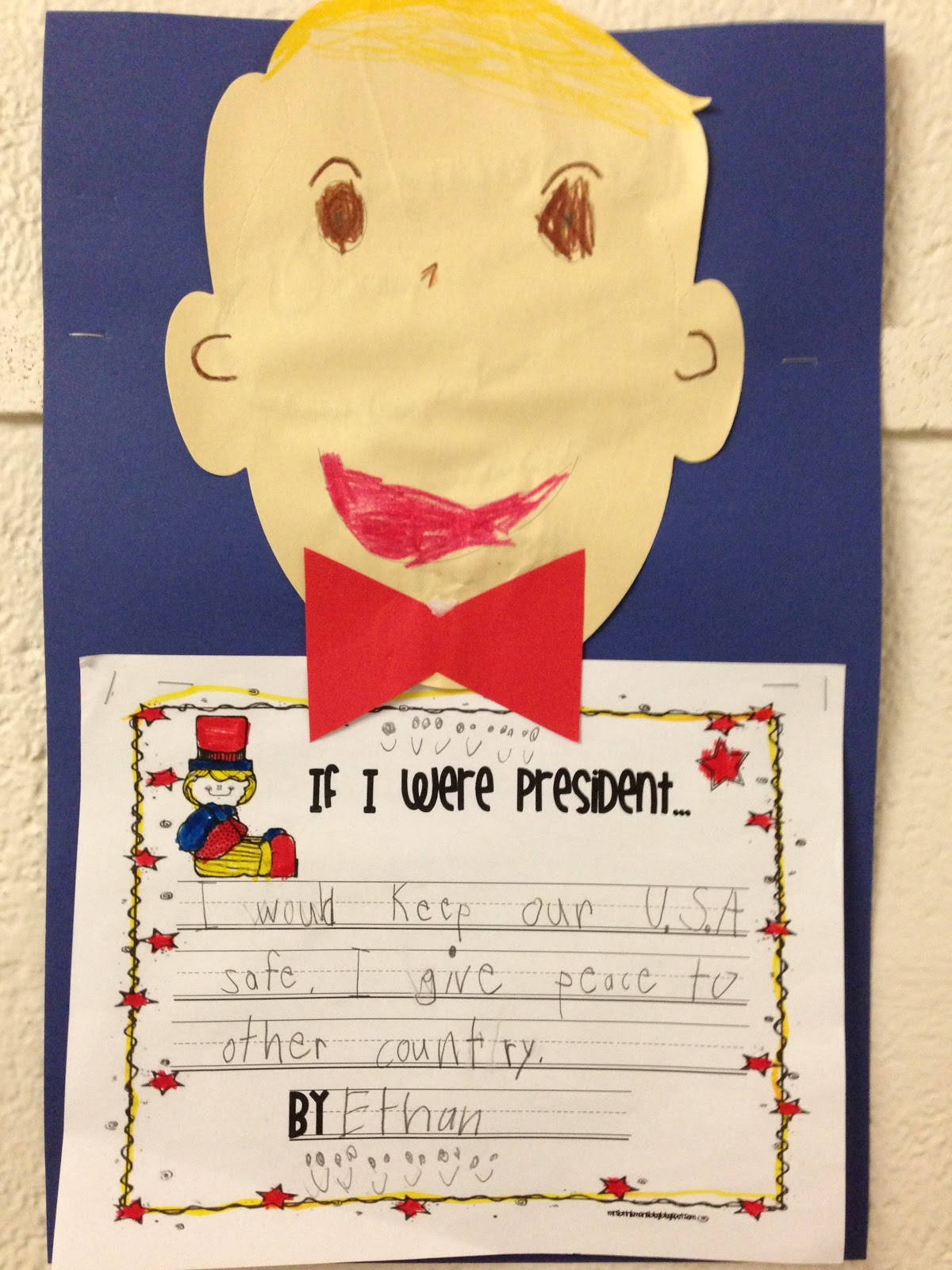 Mrs Brinkman S Blog Presidents Day In First Grade