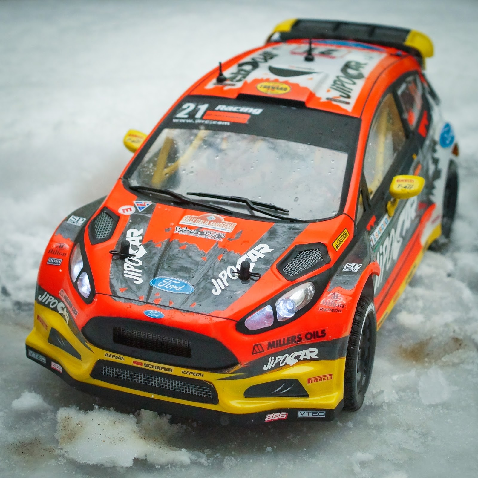 TEAM YOKOMO ITALIAN BLOG: 1/10 RC JIPOCAR FIESTA RS WRC REPLICA BODY