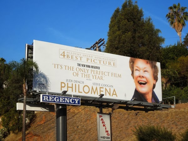 Philomena Oscar nomination billboard