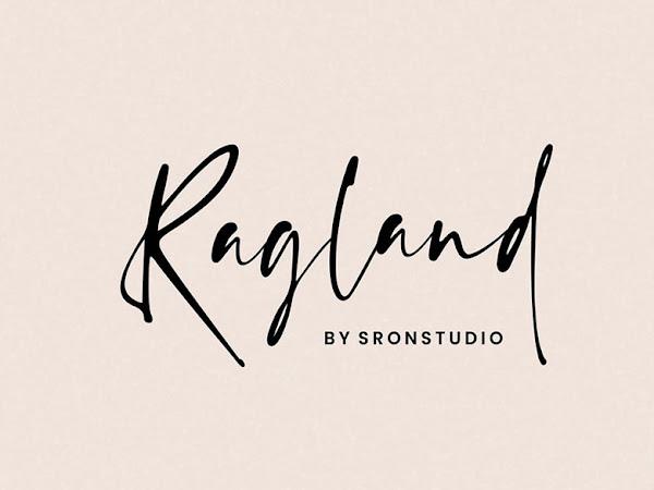 Ragland Natural Handwritten Font Free Download