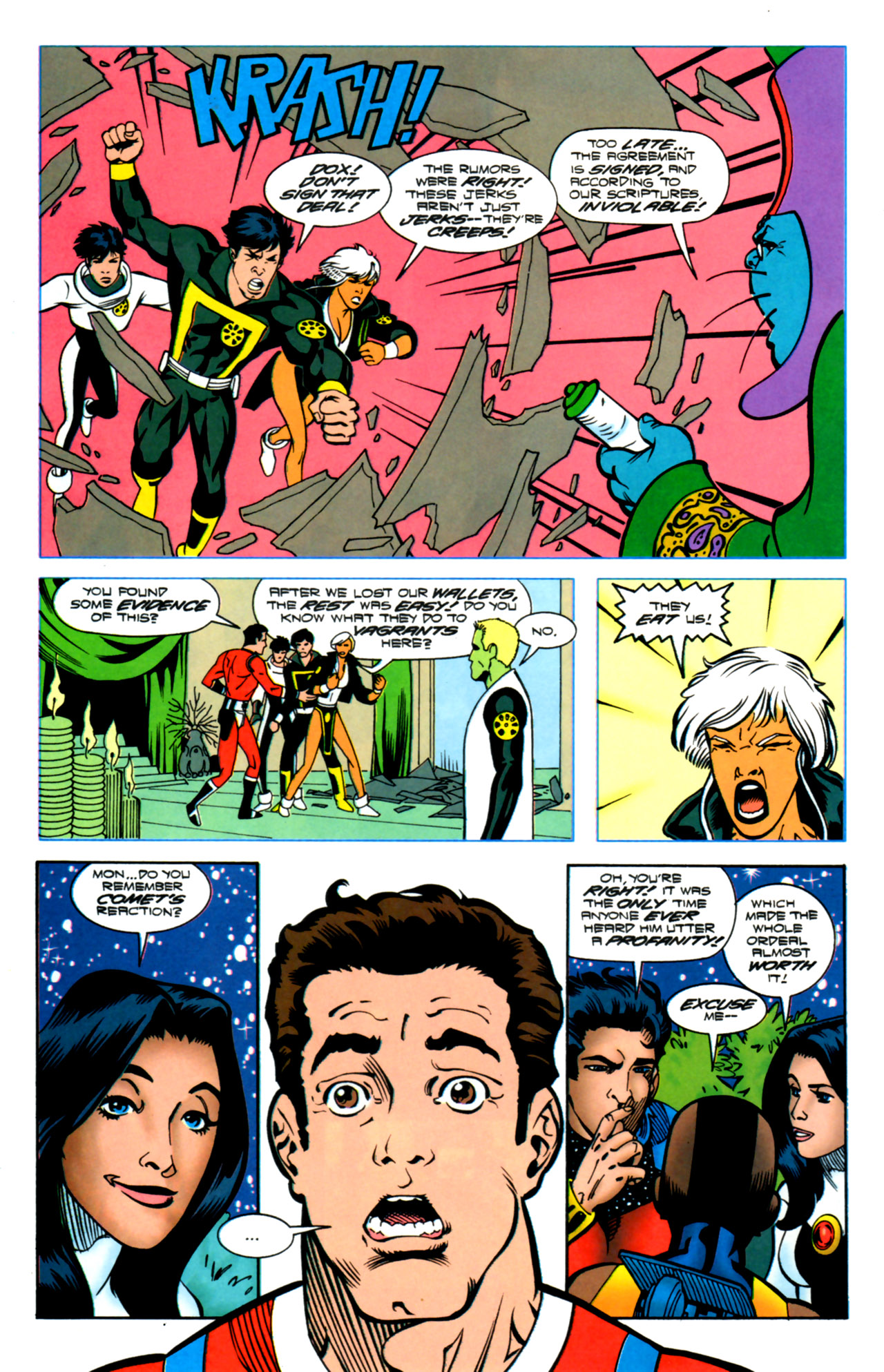Legion of Super-Heroes (1989) 119 Page 18