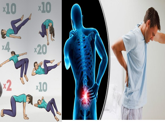 Relieve Back Pain With These 1 Minute Stretching Exercises