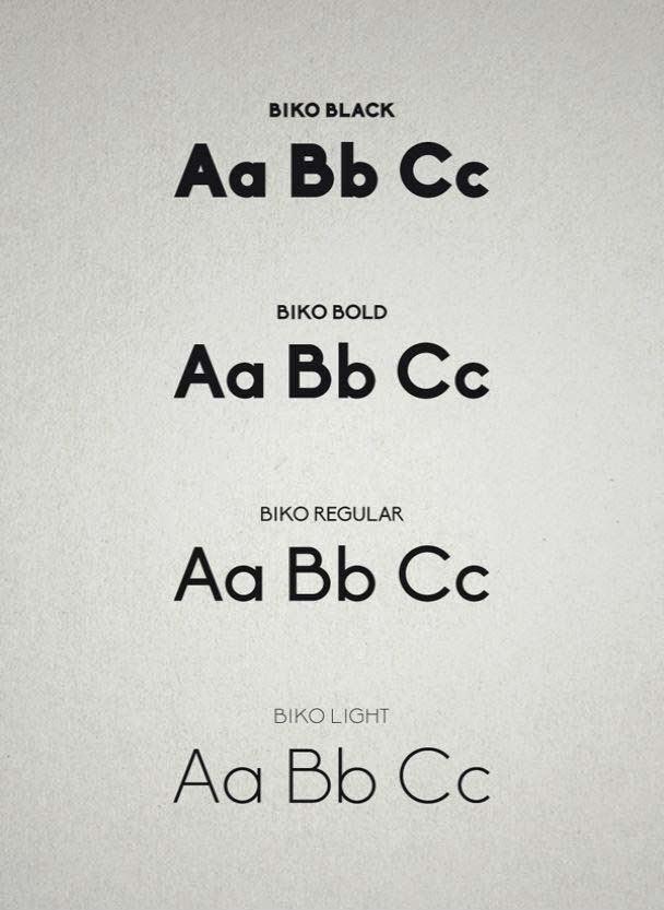Biko font
