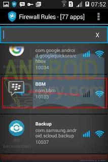 Salah satu cara untuk menghemat kuota data adalah dengan  Cara Mematikan Data Internet Untuk Salah Satu Aplikasi di Android