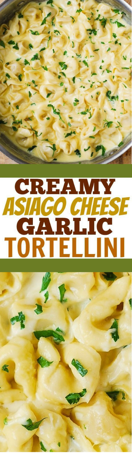 CREAMY ASIAGO CHEESE TORTELLINI