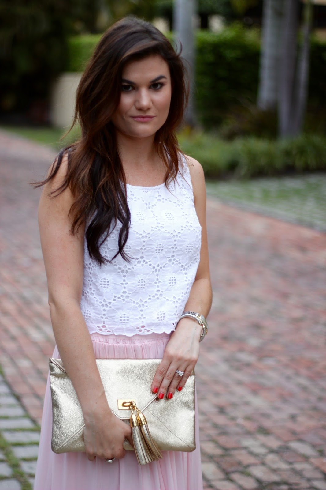 Lilly Pulitzer crop top The Neapolitan blog
