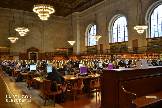 Biblioteca Publica de Nueva York Rose Reading Room