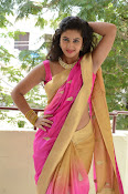 pavani new photos in saree-thumbnail-20