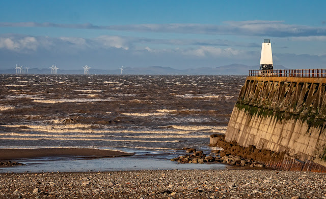 Photo of Marport pier at low tide