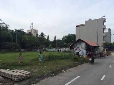 Vị trí lô đất dịch vụ liền kề giá rẻ Yên Nghĩa, Hà Đông, HN