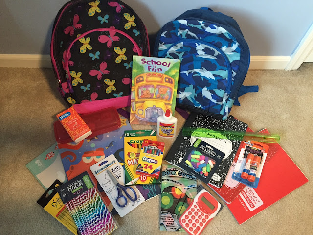 2017 Back To School Giveaway