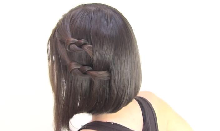 Peinados Faciles Para Cabello Corto Elainacortez
