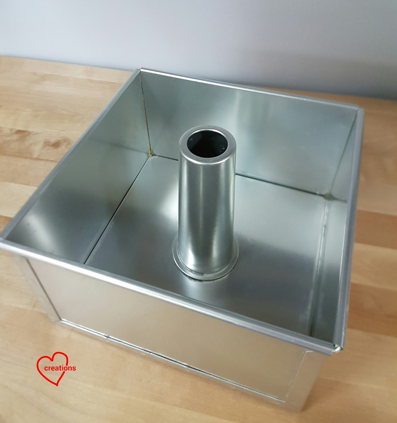 Inch Aluminum Tube Cake Pan