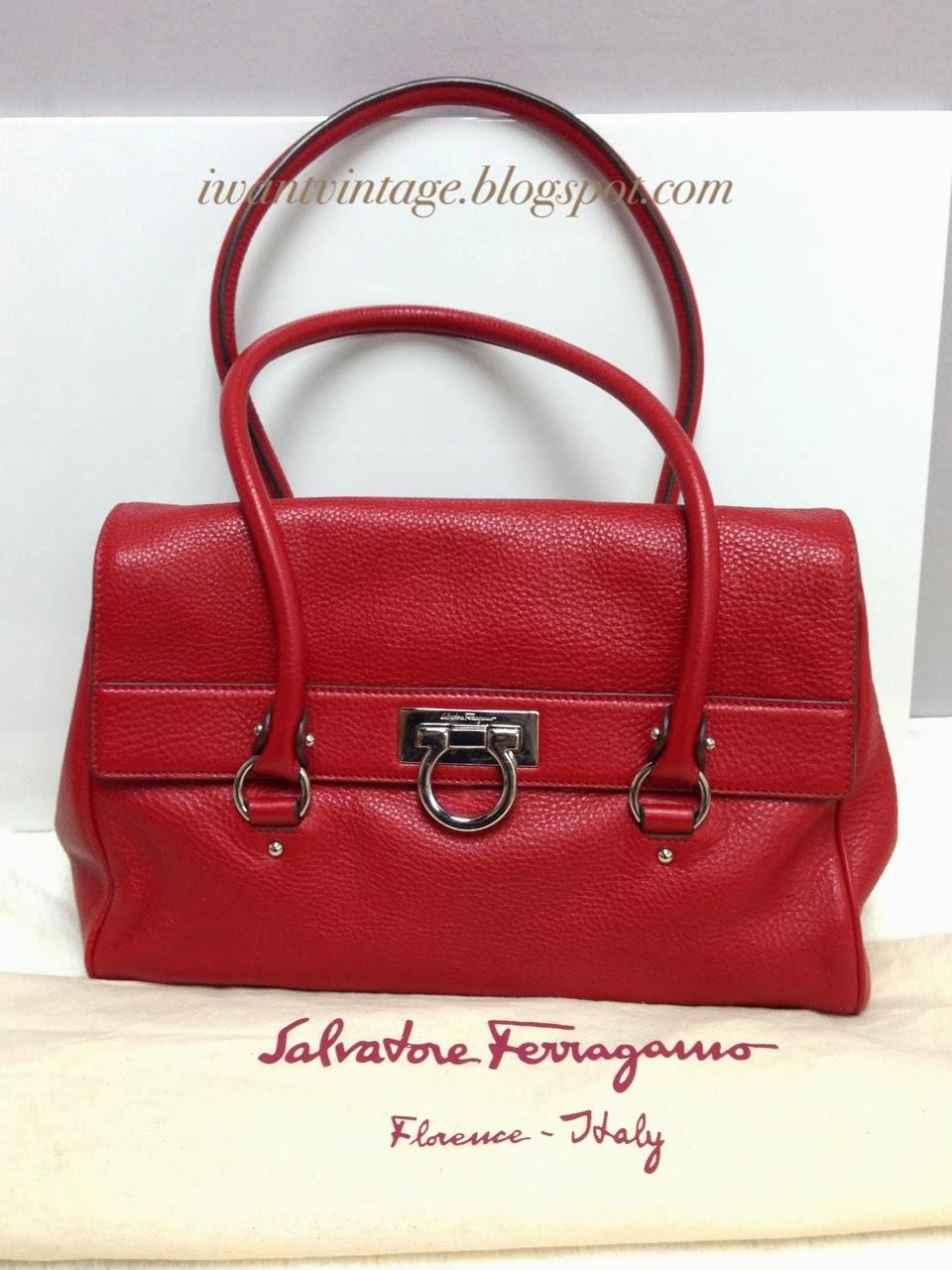 I Want Vintage Vintage Designer Handbags Salvatore