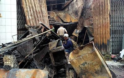 Vụ cháy kinh hoàng làm 4 người chết ở Biên Hoà - Đồng Nai