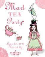 I got to be a part of this wonderful crazy party that Ms Vanessa over at A fanciful Twist hosted!