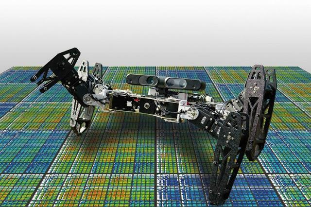Αποτέλεσμα εικόνας για Ρομπότ που αυτοθεραπεύονται και προσαρμόζονται όπως τα ζώα
