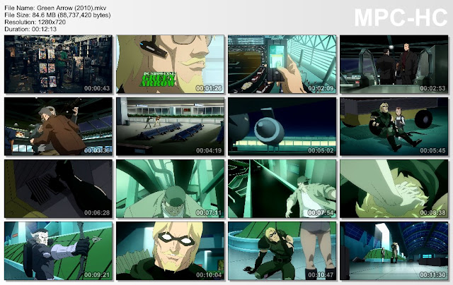 dc showcase green arrow 720p or 1080p