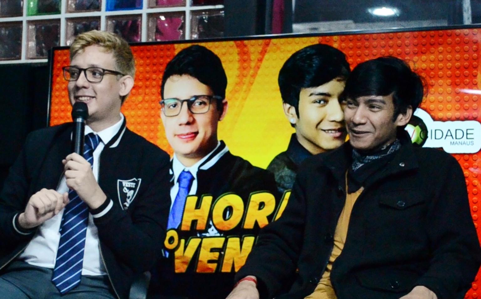 Erlan Bastos e Eduardo Paiva anunciam a volta da ''Hora do Veneno''para quinta temporada.