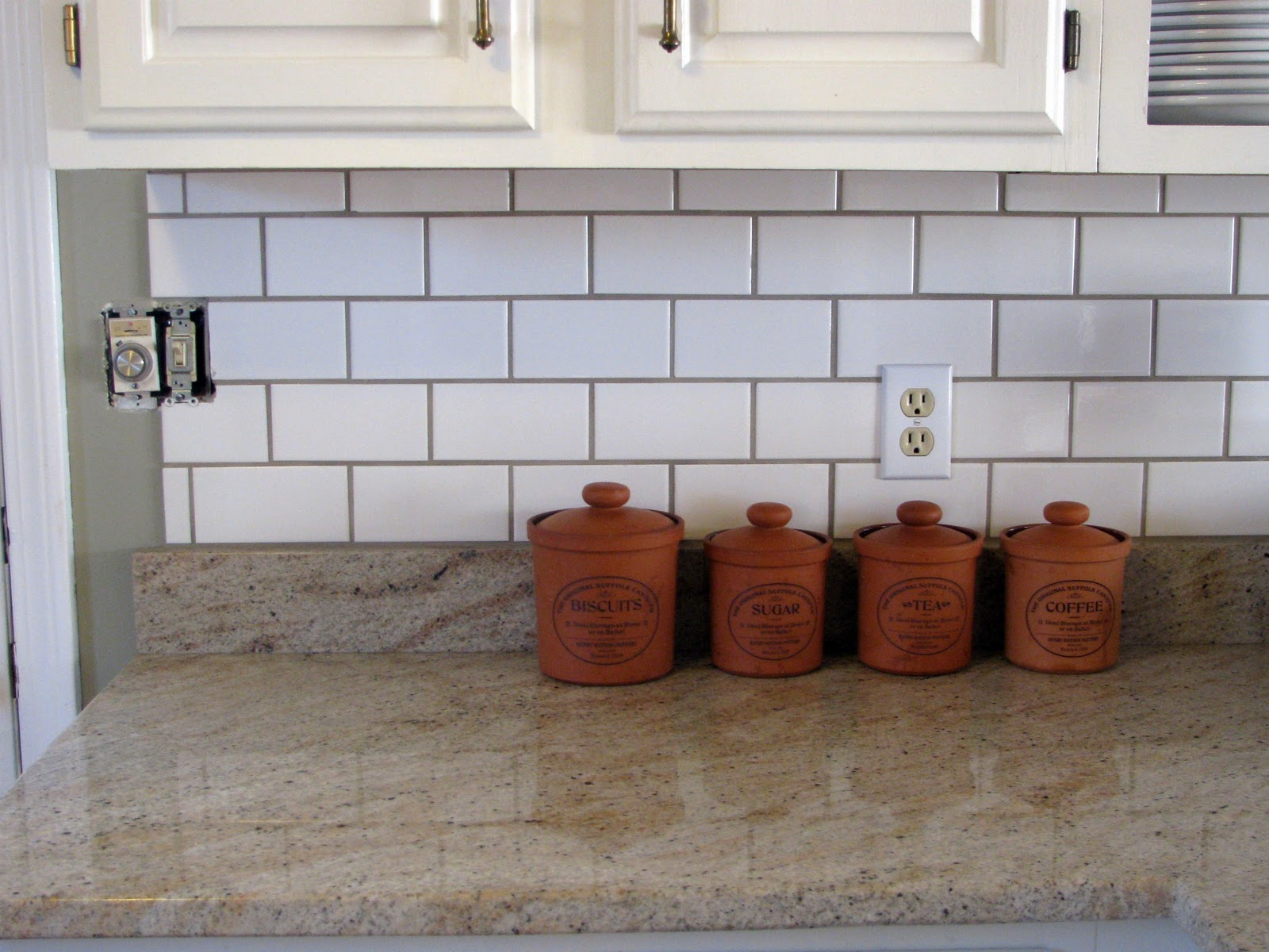 subway tiles kitchen this modern kitchen called for a detailed - How To Grout Tile Backsplash
