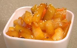 десерт припущенная с медом тыква