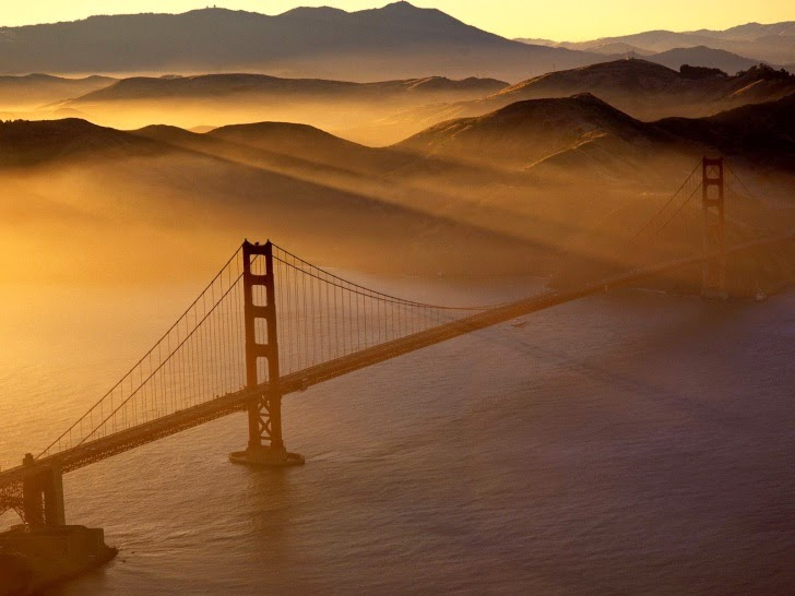 3 – Golden Gate Bridge, San Francisco, USA - 11 Architectural Places You Should See Even Once in Your Life!