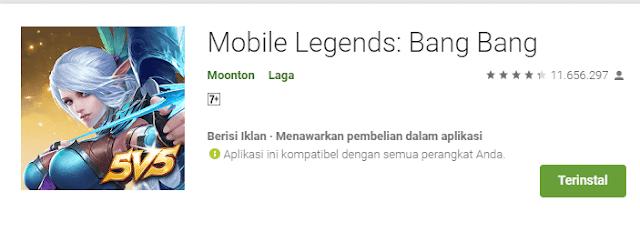Download Games Mobile Legends Bang Bang Apk Android Gratis