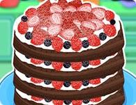 كعكة التوت