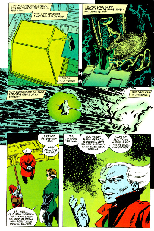 Green Lantern: Ganthet's Tale By Larry Niven, John Byrne, Matt Webb