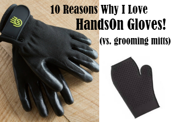 10 Reasons I Love HandsOn Gloves (vs. Grooming Mitts)