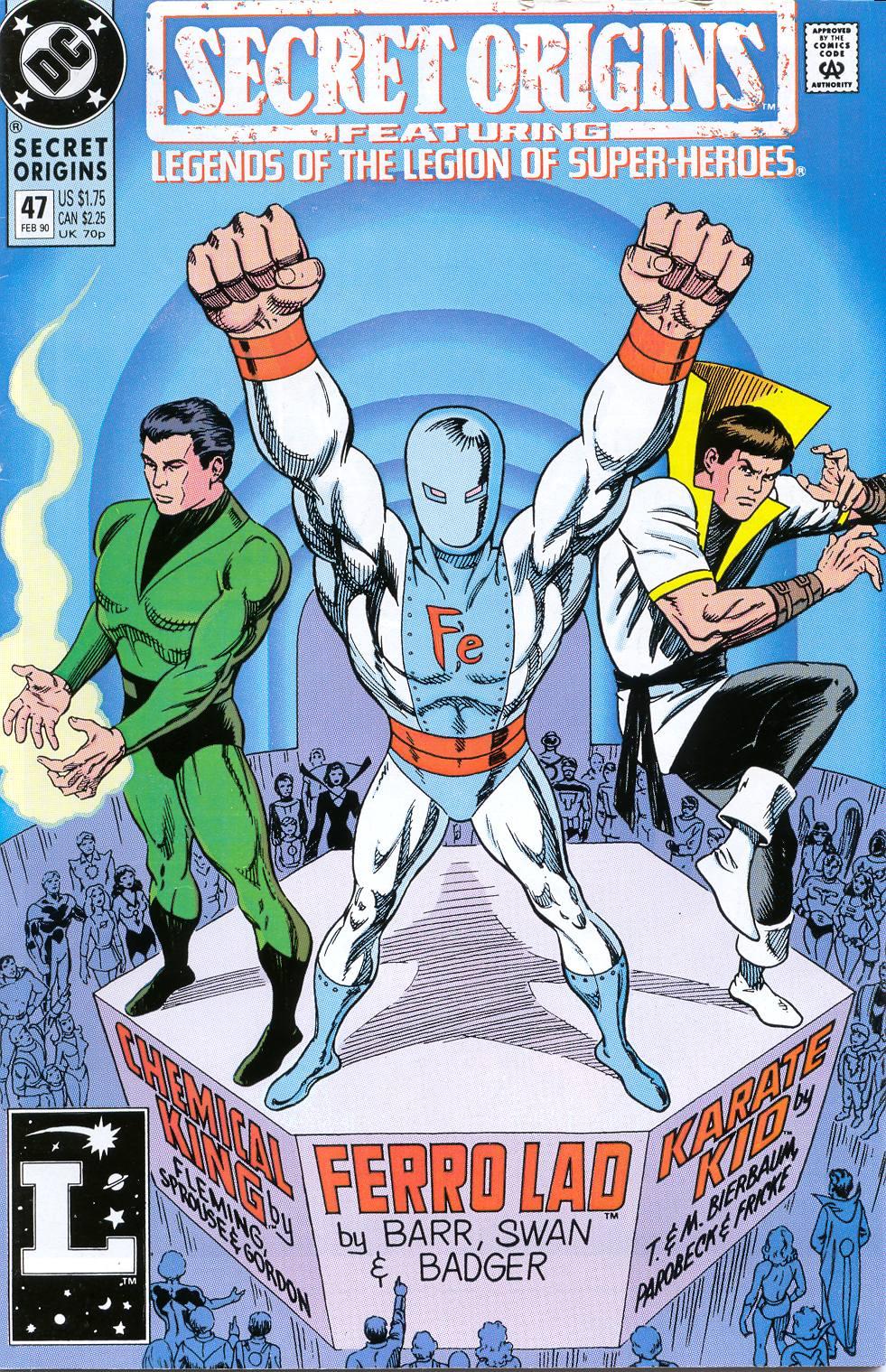 Read online Secret Origins (1986) comic -  Issue #47 - 1