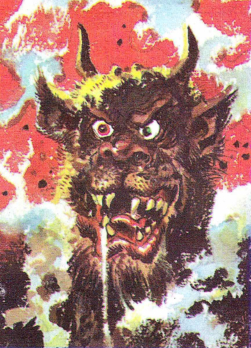 a color demon by cartoonist Jack Davis