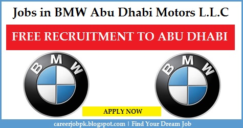 Latest jobs in BMW Abu Dhabi Motors L.L.C
