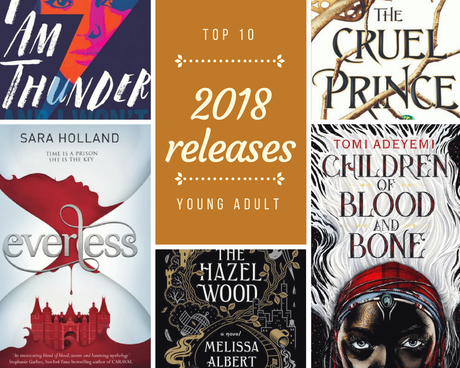 Top 10 Most Anticipated 2018 Reads Bibliomess