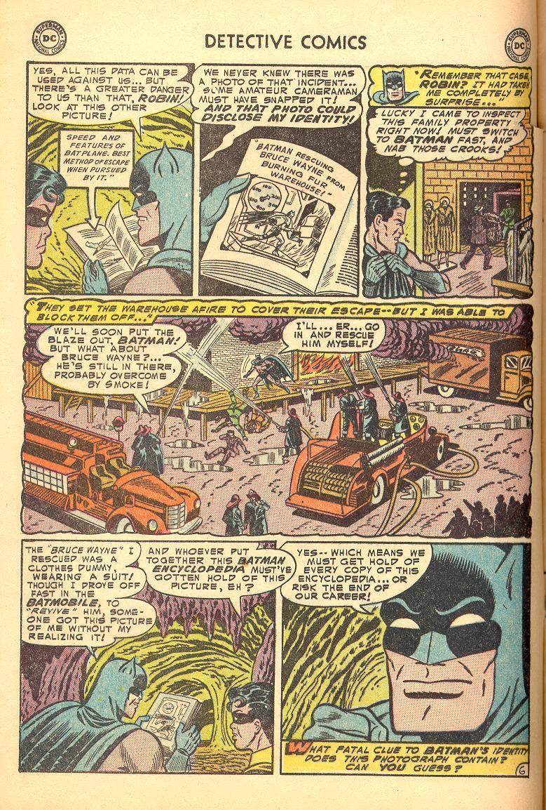Read online Detective Comics (1937) comic -  Issue #214 - 8