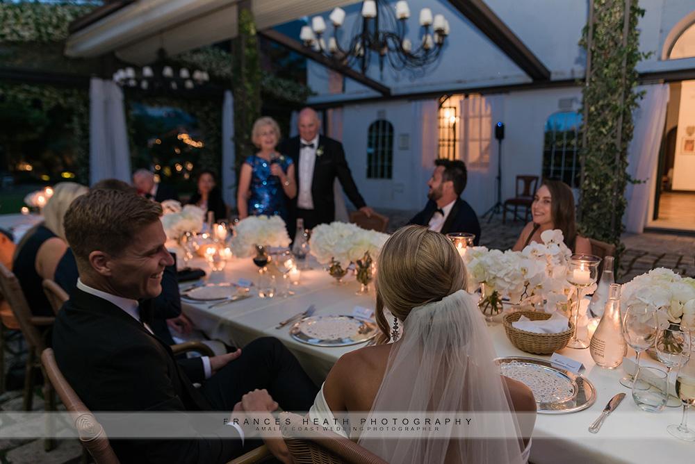Mother of groom speech