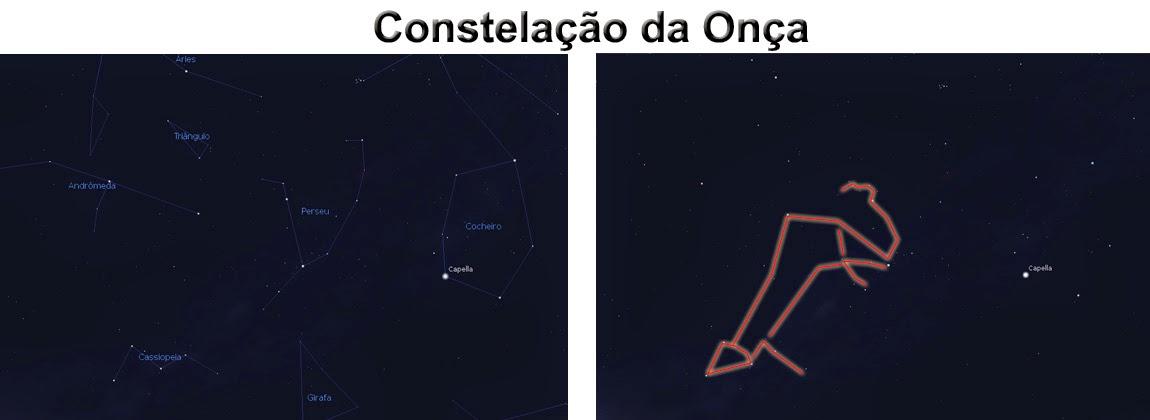 constelação da onça - yai