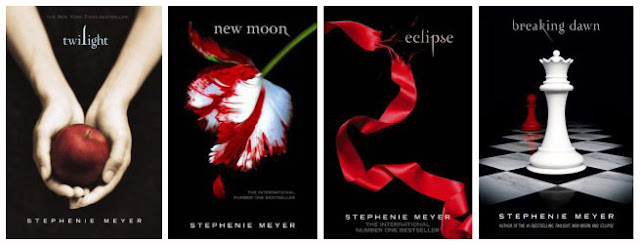 Twilight livres saga Stephenie Meyer