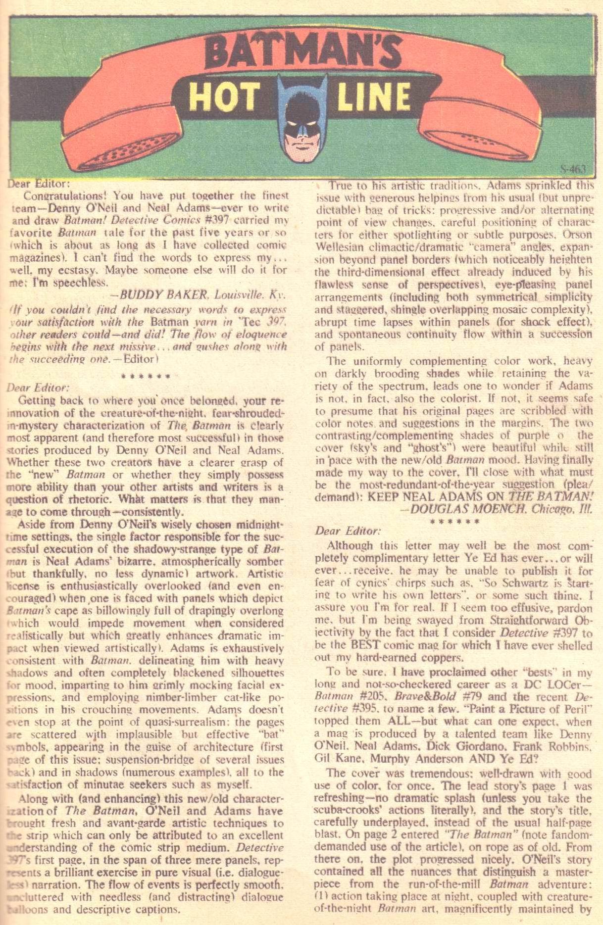Detective Comics (1937) 401 Page 20