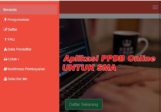 Aplikasi PPDB Online Untuk SMA