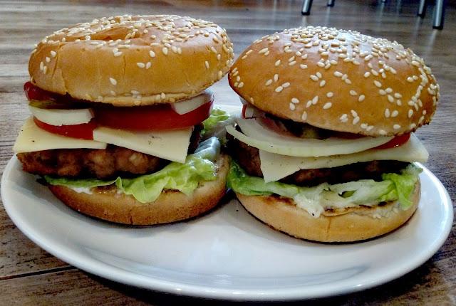 domowe hamburgery burgery wieprzowe kotlety wieprzowe do hamburgerow fast food domowy